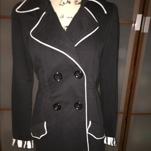L.A Kitty double breasted long pea coat
